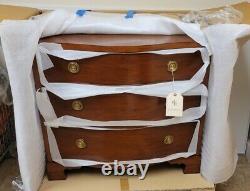 Henredon Ralph Lauren Mahogany Huge Nightstand Gentlemans Chest Brand New Boxed