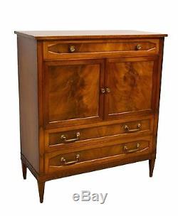 John Scalia Schmieg & Kotzian Mahogany Chest of Drawers Dresser