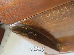 KENT COFFEY BARNSLEY MID CENTURY MAHOGANY TALL DRESSER chest of drawers bureau