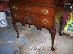 KINDEL #166-5 Oxford Mahogany New England Highboy QUEEN ANNE STYLE