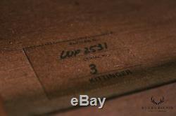 Kittinger Colonial Williamsburg Adaptation Mahogany Bachelors Chest (B)