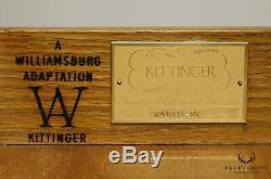 Kittinger Colonial Williamsburg Adaptation Mahogany Bachelors Chest (D)