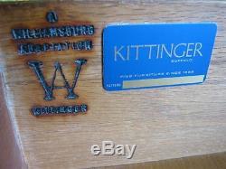 Kittinger Colonial Williamsburg (WA 1008) Chippendale Mahogany Six-Drawer Chest