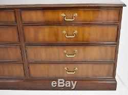 Kittinger Solid Mahogany Chest of Drawers Dovetail Drawers