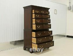Kittinger The Richmond Hill Collection Large Mahogany Chest On Chest #81