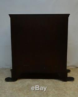 Kittinger Williamsbug Solid Mahogany Chippendale Chest of Drawers