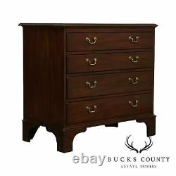 Kittinger Williamsburg Adaptation Chippendale Style Mahogany Chest of Drawers