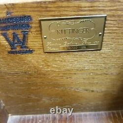 Kittinger Williamsburg mahogany furniture -special edition MINT CONDITION