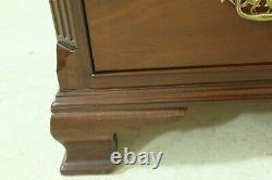LF33064EC BAKER Chippendale Mahogany 4 Drawer Chest Or Dresser