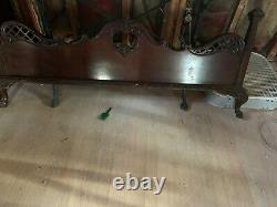 Mahogany Bedroom Set, Head and Footboard, dresser, chest, two nightstands