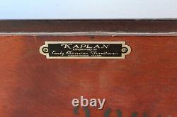 Mahogany Salem Styled Chest of Drawers / Dresser by Kaplan Furniture Co
