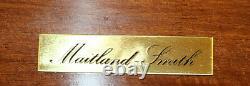 Maitland Smith Adams Style Paint Decorated Mahogany Buffet Server Chest