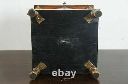 Maitland Smith French Empire Mahogany Tea Caddy Cigar Jewelry Chest Trinket Box