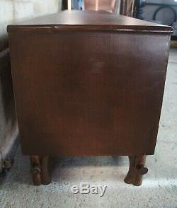 Mid Century Mahogany Ming TV Media Stand Cabinet Chest Console Chinoiserie Asian