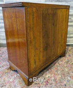 Miniature Chest Of Drawers Cabinet Apprentist Specimum 4 Drawers