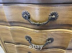 Pair French Provincial Six Draw Lingerie Chests Davis Cabinet Company Nashville