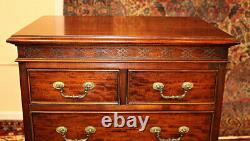 Quality Petite Mahogany High Chest Made By Century Furniture Company