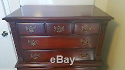 SOLID Mahogany Empire Bedroom Set Dresser, Chest, Mirror, Nightstand