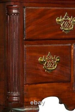 SWC-The Baron Steigel Chippendale Carved Mahogany Highboy, c. 1755