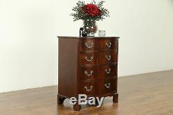 Traditional Vintage Mahogany Small Chest or Nightstand #31276