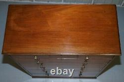 Very Rare Howard & Son's Victorian Chest Of Drawers Hidden Silver Wear Cupboard