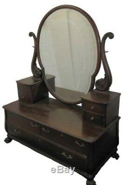 Victorian Mahogany Dresser