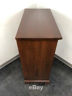 Vintage CRAFTIQUE Solid Mahogany Chippendale Tall Chest of Drawers