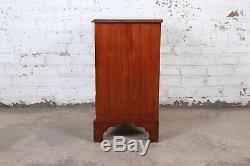 Vintage Georgian Mahogany Bachelor Chest or Commode