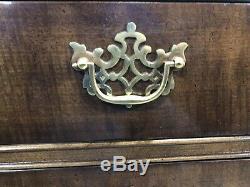 Vintage Henredon Oversized Mahogany Dresser Credenza Chest Of Drawers 10 Drawer