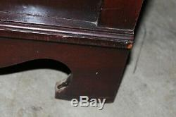 Vintage Huntley Furniture Mahogany 6-Drawer Chest on Chest
