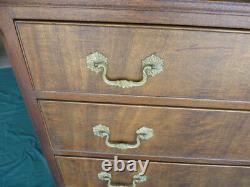 Vintage Kittinger Mahogany Four Drawer Chest