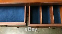 Vintage Kittinger Seven Drawer Mahogany Chest of Drawers Dresser 54.25 H