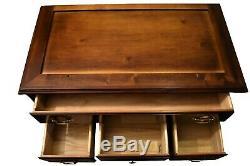 Vintage Link-Taylor Mahogany Highboy Dresser Chest