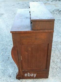 Vintage Mahogany Empire Chest of Drawers