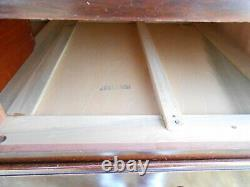 Vintage Solid Mahogany Dresser Chest Of Drawers Georgetown Galleries by Ritter
